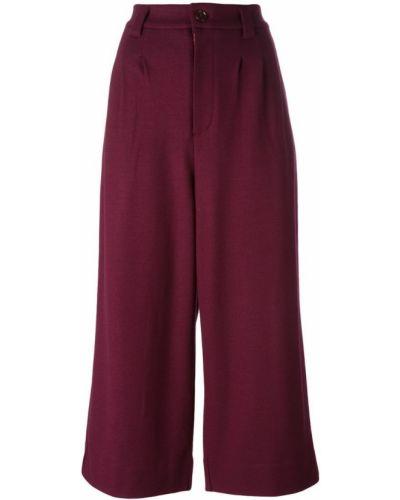 Укороченные брюки розовый шерстяные Tsumori Chisato