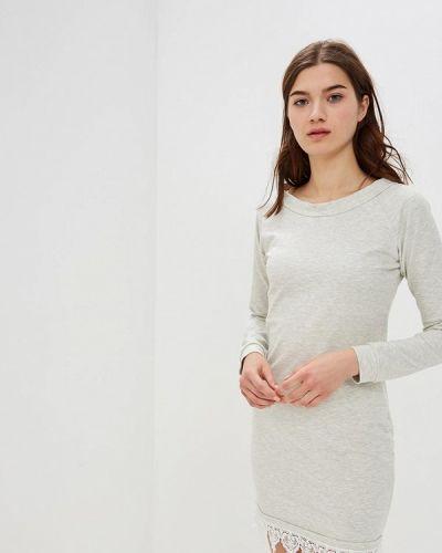 Платье серое польское Numinou