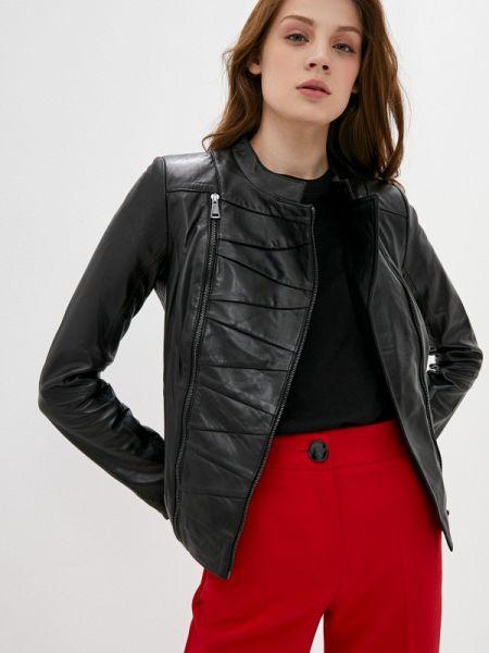 Кожаная куртка - черная снежная королева
