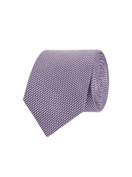Krawat, fioletowy Boss