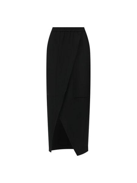 Асимметричная юбка - черная Roque