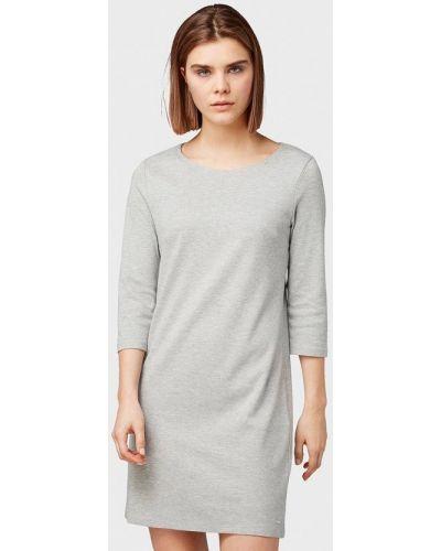 Джинсовое платье - серое Tom Tailor Denim