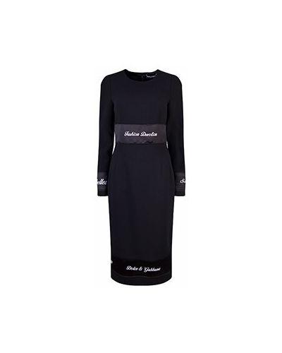 Вечернее платье - черное Dolce&gabbana
