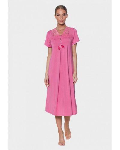 Домашнее розовое платье Vienetta