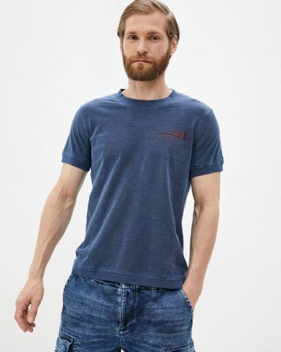 Повседневные синие шорты Desigual