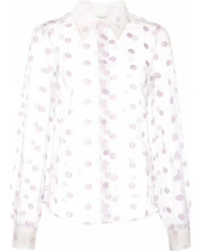 Классическая блузка прозрачная с манжетами Jill Stuart