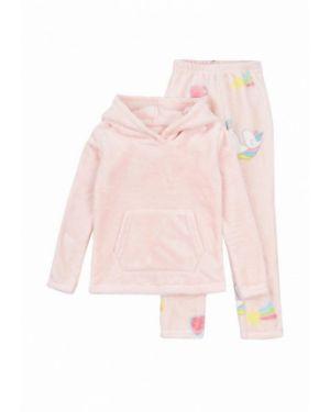 Спортивный костюм розовый фламинго текстиль