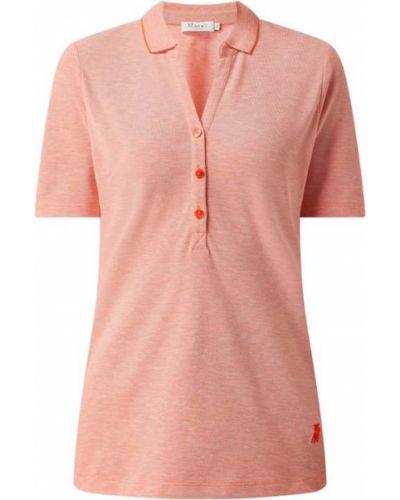 T-shirt bawełniana - pomarańczowa Maerz Muenchen