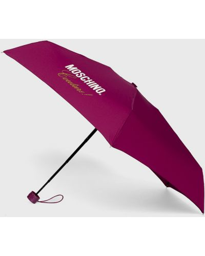 Parasol fioletowy karmazynowy Moschino