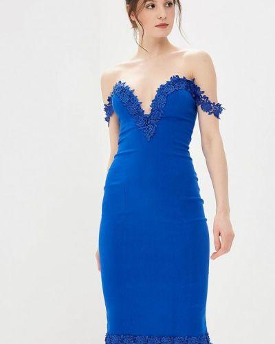 Синее платье весеннее Ad Lib