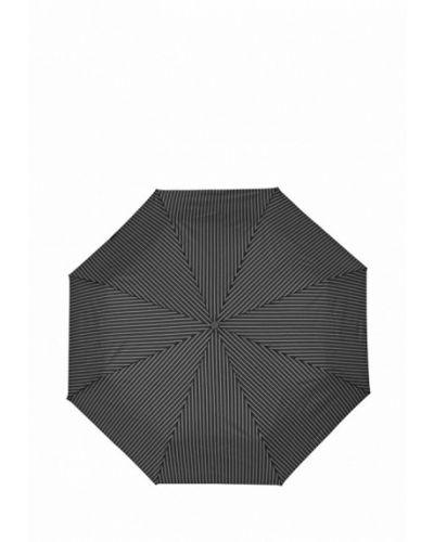 Черный складной зонт Fulton