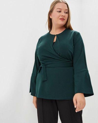 Зеленая блузка осенняя Svesta