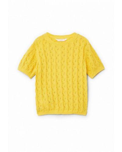 Свитер желтый Mango Kids