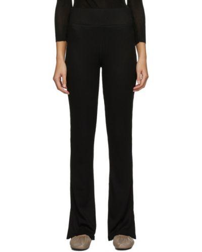 Czarny spodnie z mankietami rozciągać Rag & Bone