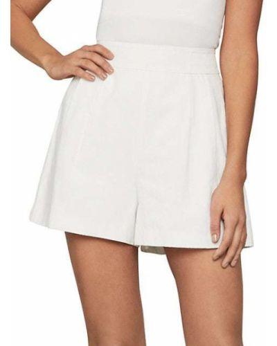 Białe szorty bawełniane Bcbgmaxazria