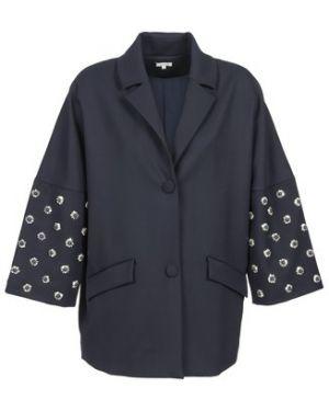 Niebieski płaszcz przeciwdeszczowy Manoush