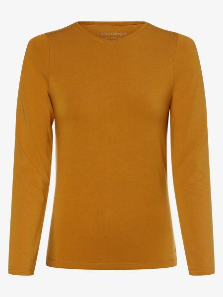 Żółty baza t-shirt Franco Callegari