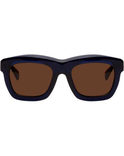 Коричневые солнцезащитные очки квадратные Kuboraum
