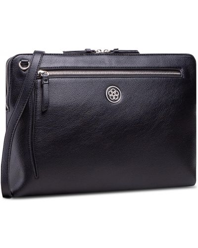Czarna torba na laptopa Quazi