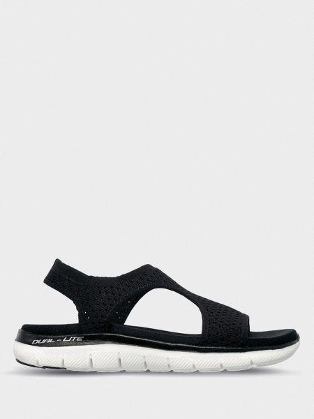 Брендовые текстильные спортивные сандалии Skechers