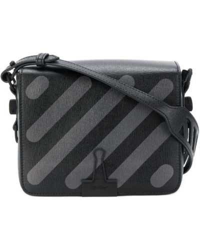 Кожаный сумка на плечо с клапаном Off-white