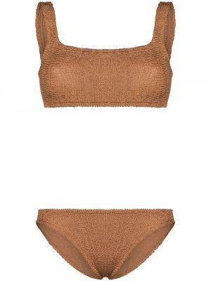 Bikini - brązowy Hunza G