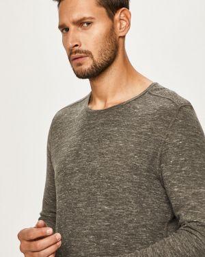 Sweter z wzorem z dzianiny Selected