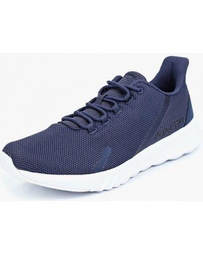 Синие кроссовки низкие Anta