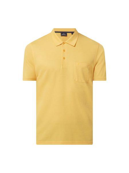 Żółty t-shirt bawełniany Ragman
