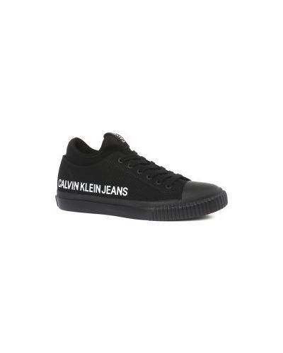 Кеды черные Calvin Klein