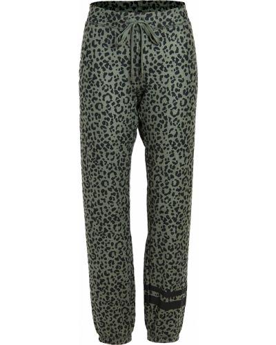 Текстильные зеленые брюки на резинке Pj Salvage
