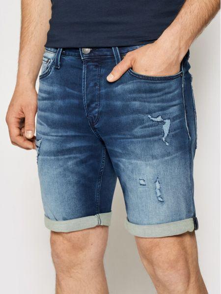 Szorty jeansowe granatowe Jack&jones