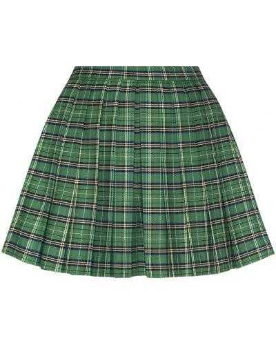 Юбка мини в клетку юбка-шорты Maje