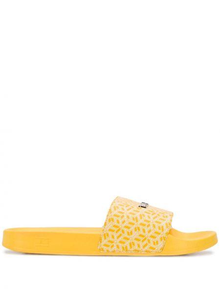 Шлепанцы для бассейна желтый Tommy Hilfiger