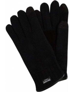 Rękawiczki prążkowany wełniany Eem-fashion