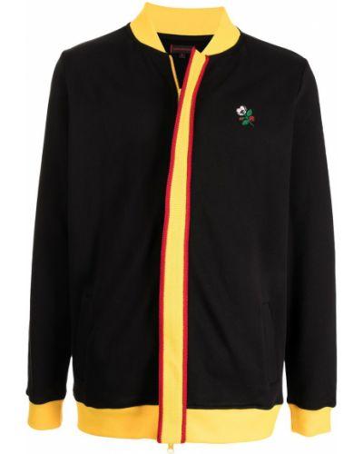 Czarna kurtka bawełniana Clot
