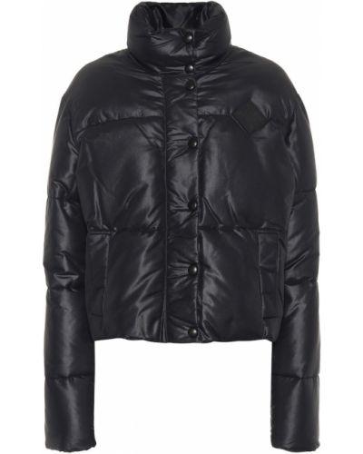 Зимняя куртка черная стеганая Givenchy