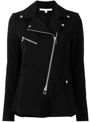 Черная куртка на молнии с воротником Veronica Beard