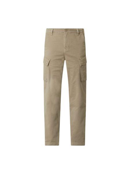 Spodni bojówki z paskami z kieszeniami z zamkiem błyskawicznym Levi's