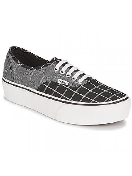 Szary buty na klinie Vans