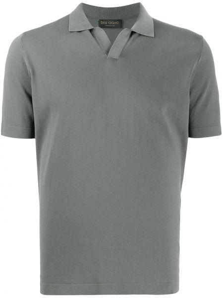 Koszula krótkie z krótkim rękawem klasyczna prosto Dell'oglio
