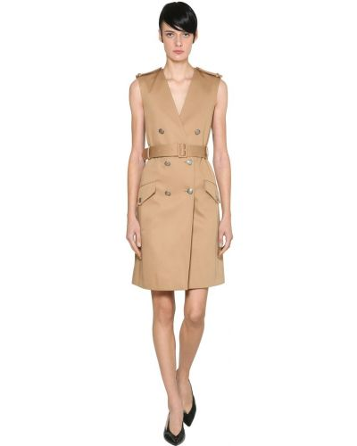 Платье с поясом на пуговицах двубортное Givenchy