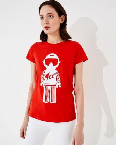 Красная футболка Ice Play