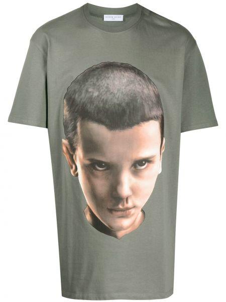 Koszula krótkie z krótkim rękawem wojskowy prosto Ih Nom Uh Nit