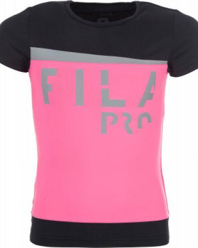 Спортивная футболка приталенная для бега Fila