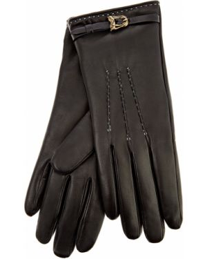 Кожаные перчатки итальянский кашемировые Ermanno Scervino
