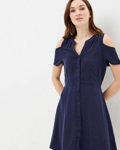 Синее платье весеннее Jennyfer