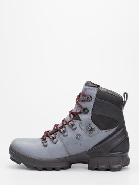 Водонепроницаемые кожаные ботинки трекинговые на шнуровке Ecco
