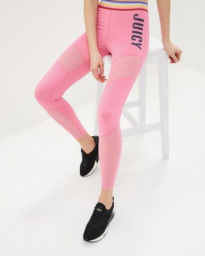 Леггинсы розовый Juicy By Juicy Couture