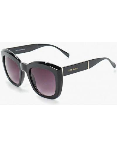Солнцезащитные очки черные River Island